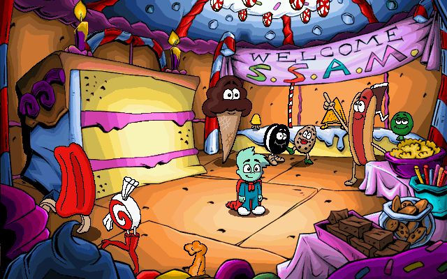 к игре Pajama Sam 3: You Are What You Eat from Your Head to Your Feet