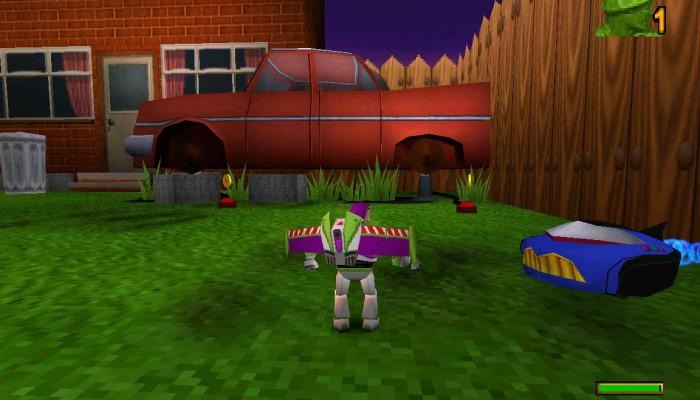 к игре Toy Story 2