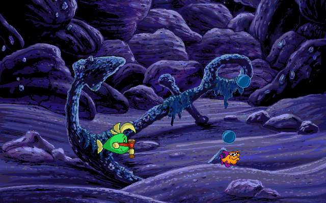 к игре Freddi Fish and Luther's Water Worries