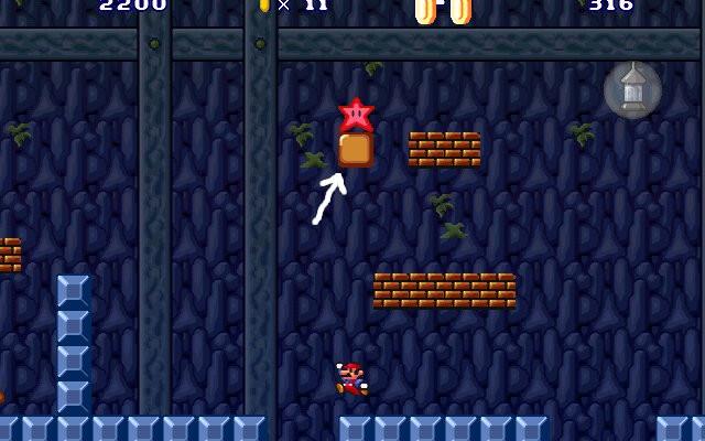 к игре Super Mario 3: Mario Forever