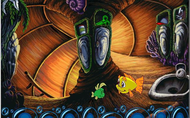 к игре Freddi Fish 2: The Case of the Haunted Schoolhouse