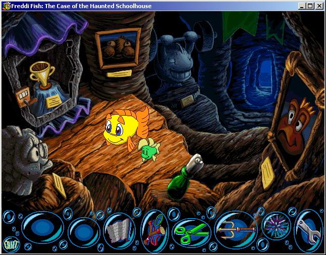Скриншоты из игры рыбка фредди дело о