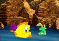 Скриншоты из игры Рыбка Фредди: Дело о Школьном Призраке