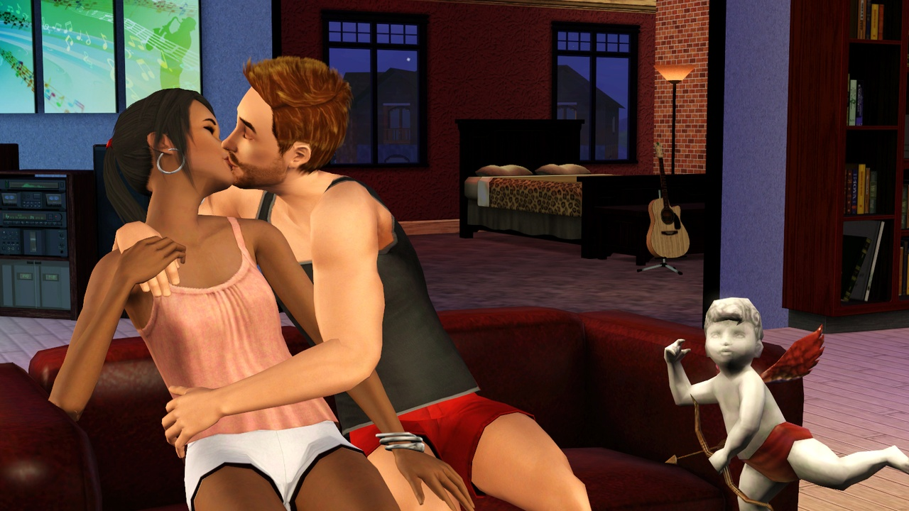 Cheat to get your sims naked nackt clips