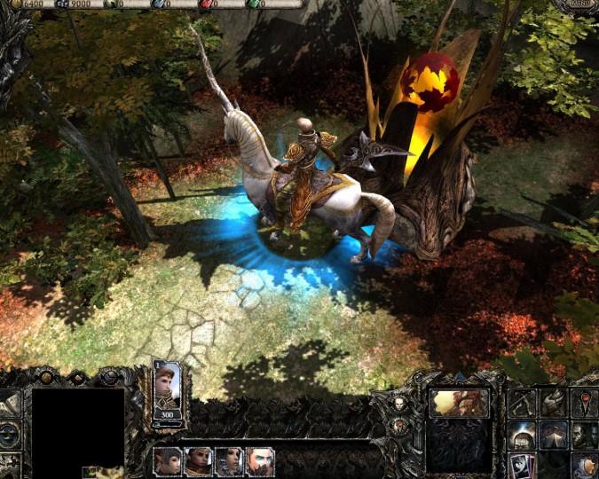 На официальном форуме появилась парочка новых скриншотов игры Disciples III: