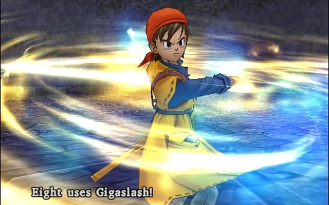 к игре Dragon Quest 8: Journey of the Cursed King