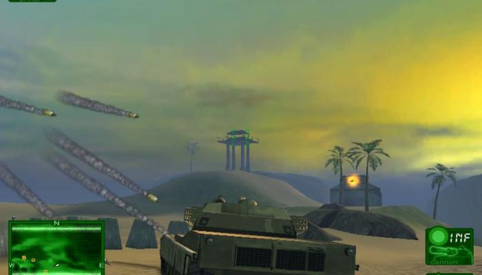 к игре Desert Thunder