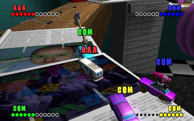 к игре Micro Machines V4