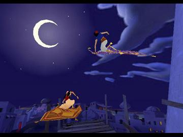 к игре Aladdins Magic Carpet Racing