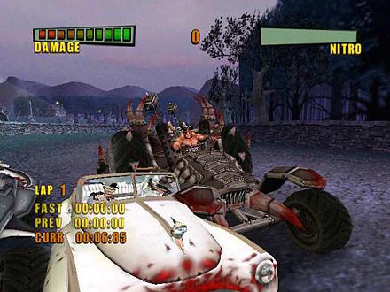 к игре Earache Extreme Metal Racing