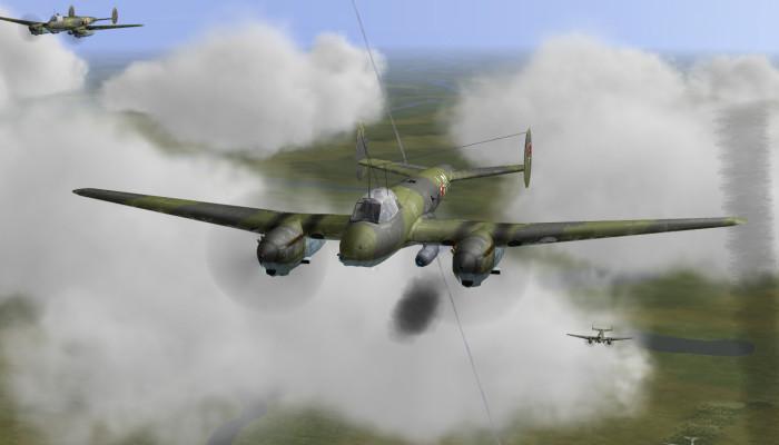 к игре IL-2 Sturmovik: Pe-2