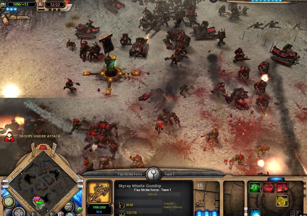 Warhammer 40K Dawn of WAR Dark Crusade (2006RUS)