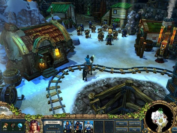 Игра King's Bounty: Легенда о рыцаре для PC - Компания 1С. micro