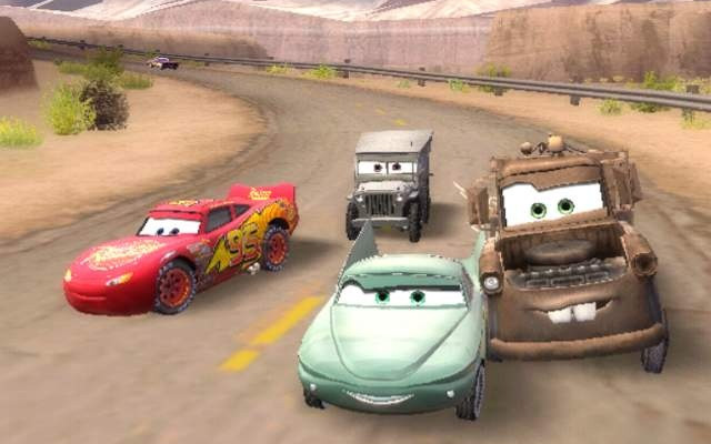 к игре Cars: The Videogame
