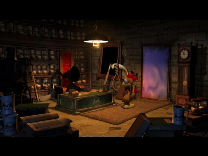Морхухн Джонс 2 и Золотое проклятие - скриншот из игры.