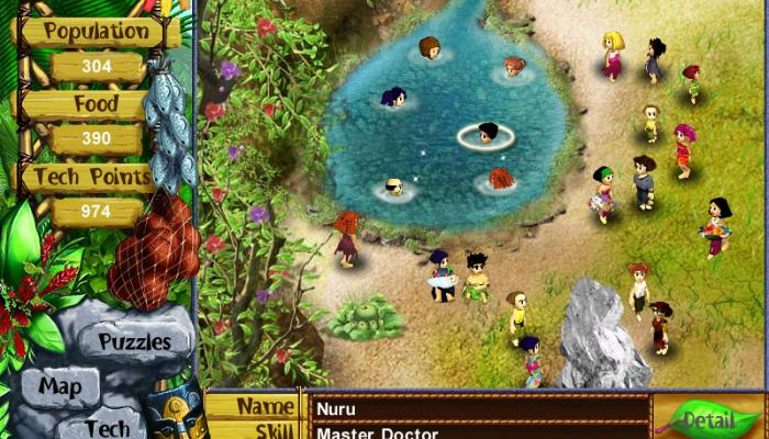 к игре Virtual Villagers