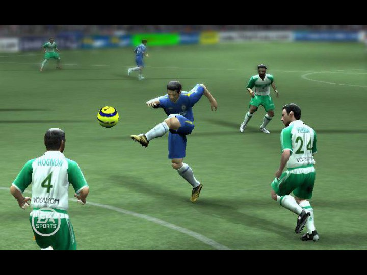 FIFA 07 starts the new year on top as Electronic Arts offerings finish