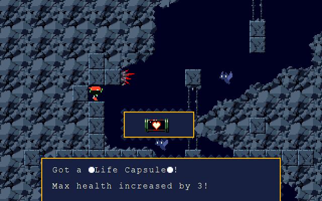 к игре Cave Story: Doukutsu Monogatari
