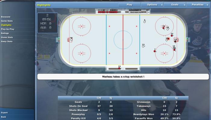 к игре NHL Eastside Hockey Manager 2007