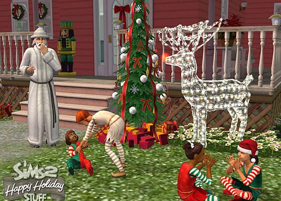 к игре Sims 2: Happy Holiday Stuff, The