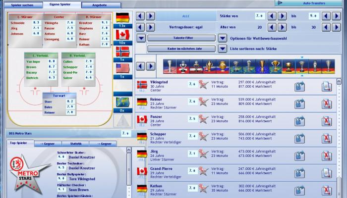 к игре Heimspiel: Eishockeymanager 2007
