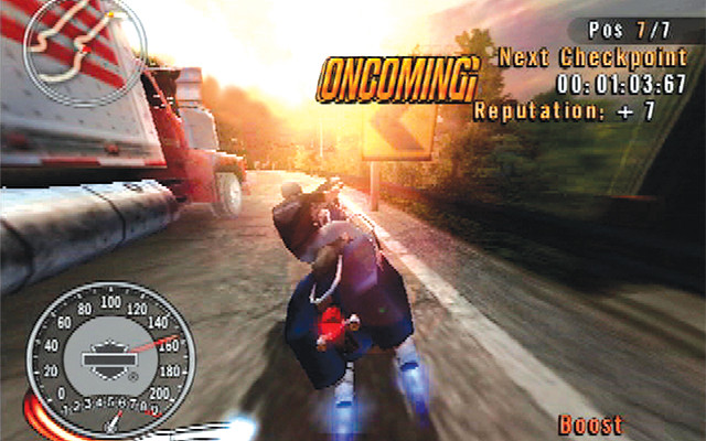 к игре Harley-Davidson Motorcycles: Race to the Rally