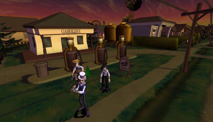 к игре Penny Arcade Adventures: On the Rain-Slick Precipice of Darkness, Episode One