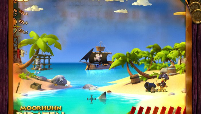 к игре Moorhuhn Pirates