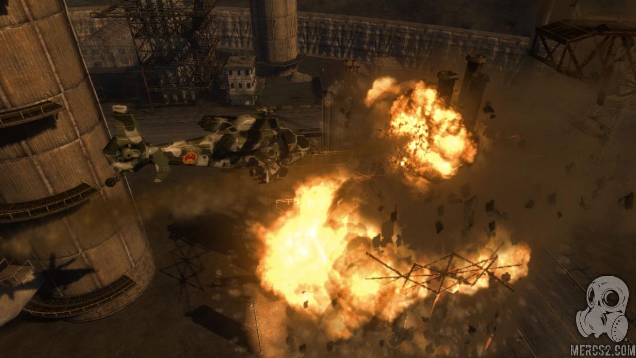 Почему не сохраняется игра mercenaries 2. world in flames