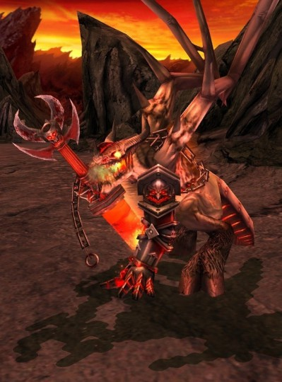 Heroes 5 Tribes of the East: Inferno Pit Spawn: Axe of Slaughter, Magic. Г