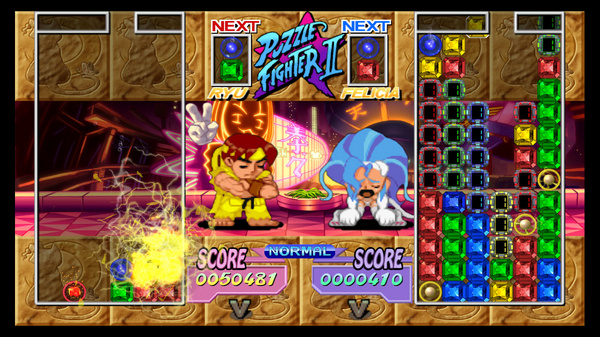 к игре Super Puzzle Fighter 2 Turbo HD Remix