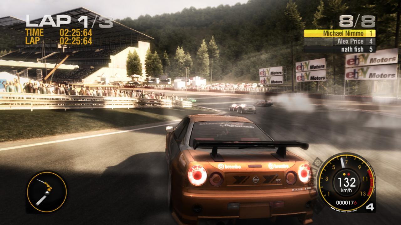 бонус коды на игру race driver grid