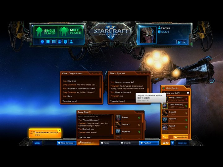 Скриншот к игре StarCraft II: Wings of Liberty #147.