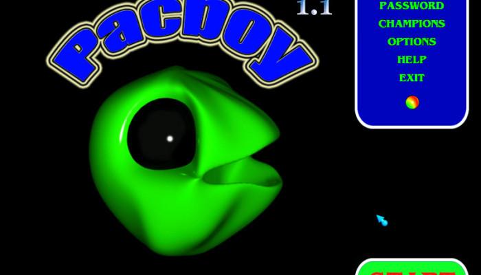 к игре Pacboy
