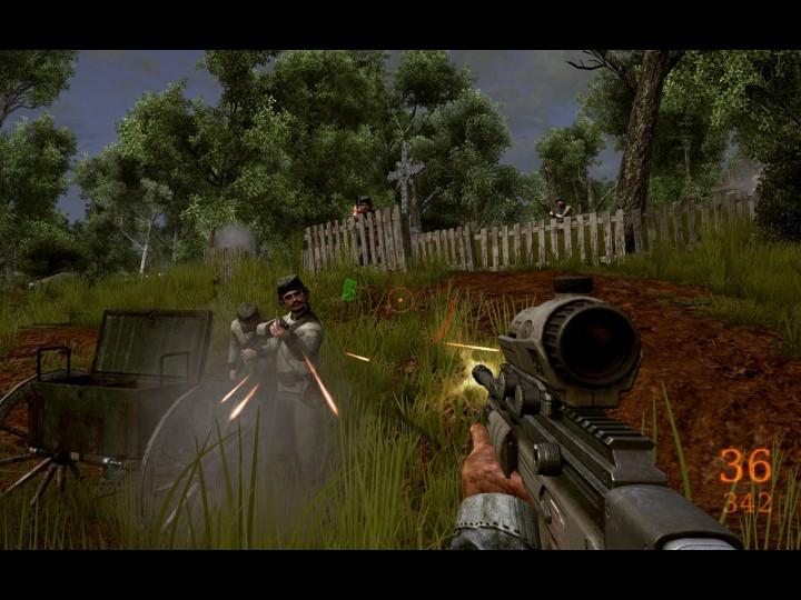 Скриншот к игре «Darkest of Days. Самый чёрный день&raquo.