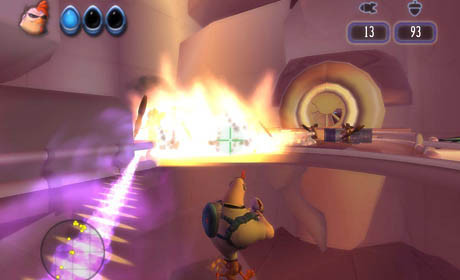 к игре Disney's Chicken Little: Ace in Action