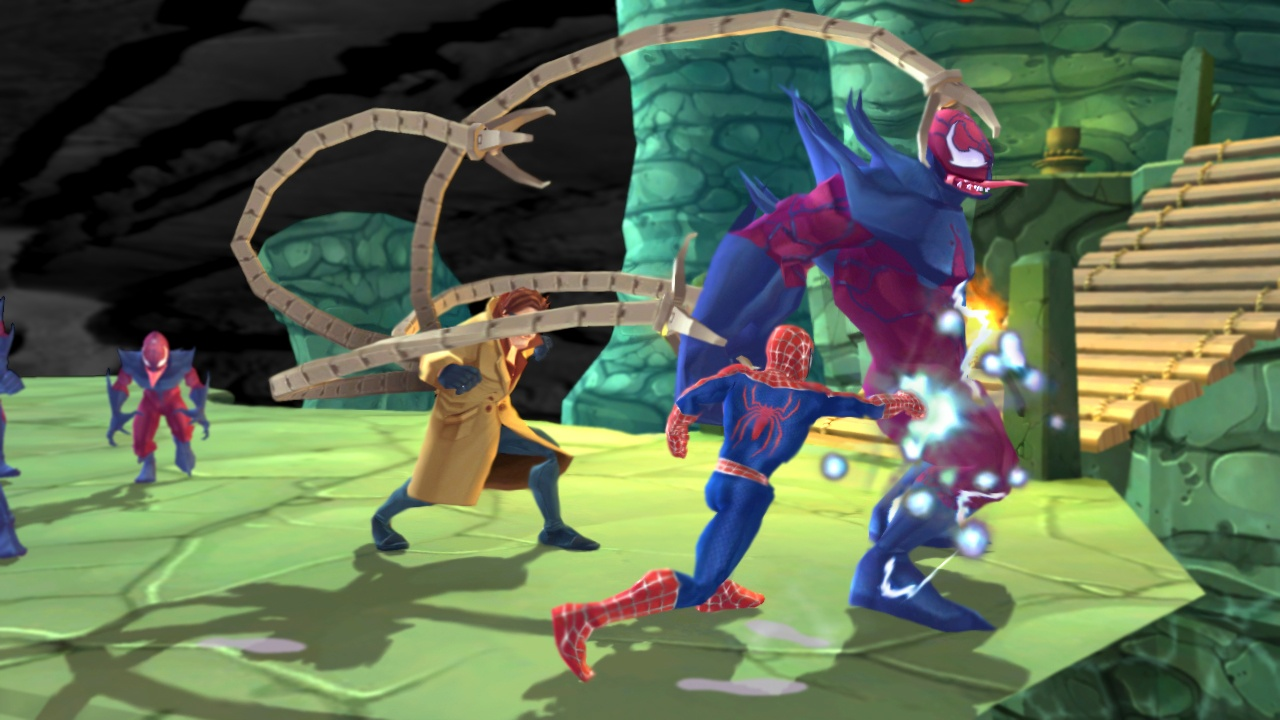 friends or foe Friend or foe is a beat 'em up where spider-man teams up with his enemies to save the day and stop an unknown nemesis eddie brock is a character in the marvel universe best known as venom he became venom when he was joined with an alien symbiote life form and was one of the most fearsome enemies.