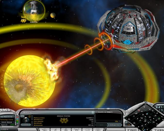 Скриншоты Galactic Civilizations 2: Twilight of the Arnor / Космическая фед