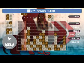к игре Lumines: Puzzle Fusion