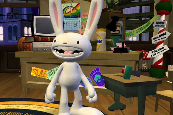 к игре Sam & Max: Episode 204 - Chariots of the Dogs