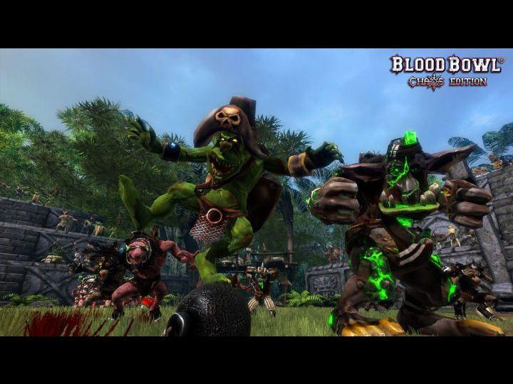 Скриншот из игры Blood Bowl: Chaos Edition под номером 2. Кликните на миниа