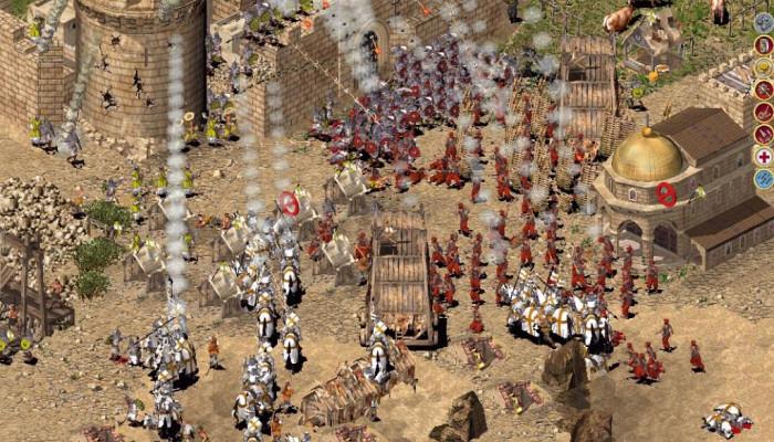Скриншоты из игры Stronghold Crusader Extreme.