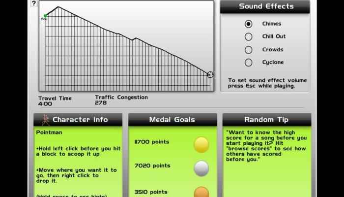 к игре Audiosurf