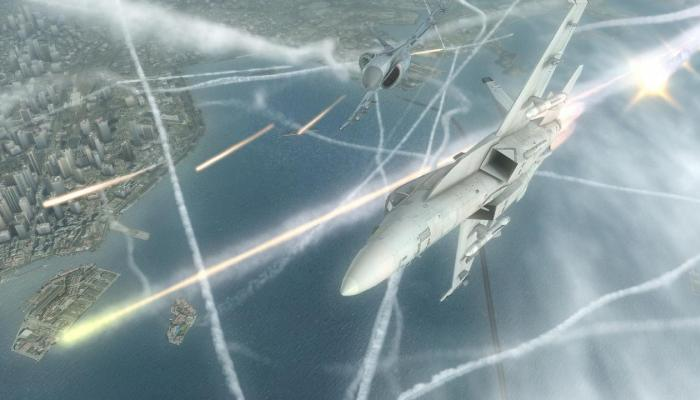 к игре Tom Clancy's H.A.W.X.
