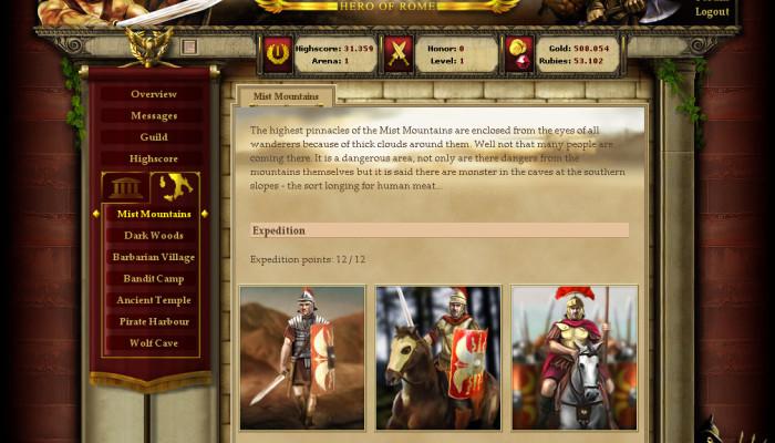к игре Gladiatus