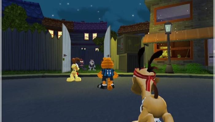 к игре Garfield Lasagna World Tour