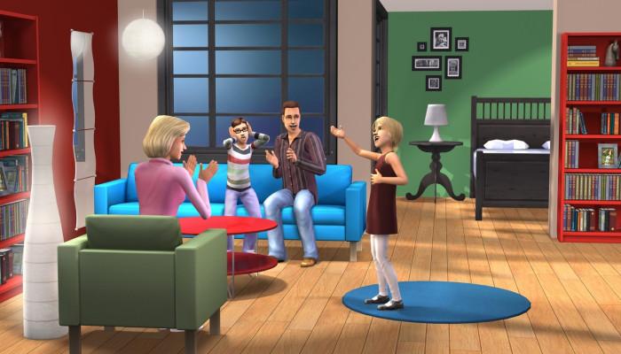 к игре Sims 2 IKEA Home Stuff, The