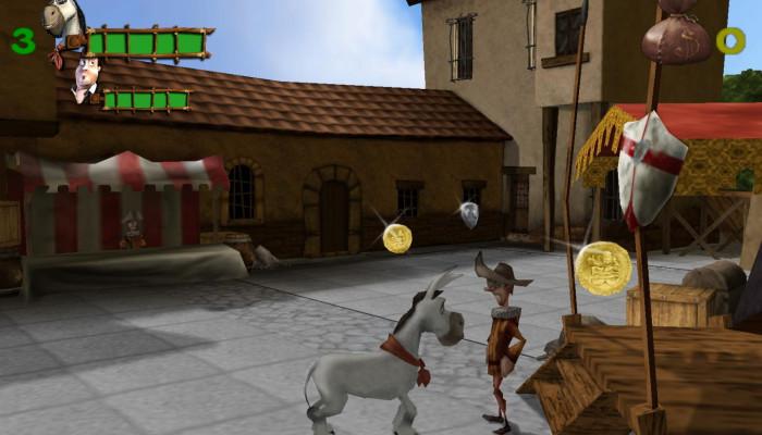 к игре Donkey Xote