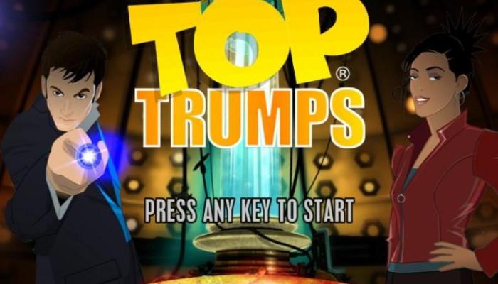 к игре Top Trumps: Doctor Who