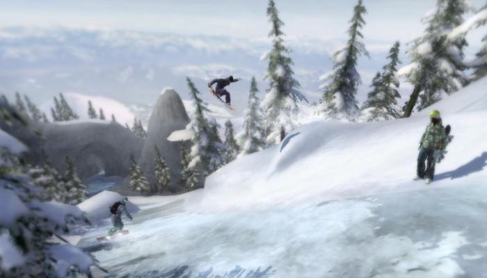 к игре Shaun White Snowboarding